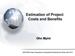 Presentation 2-Cost Benefit Analysis final