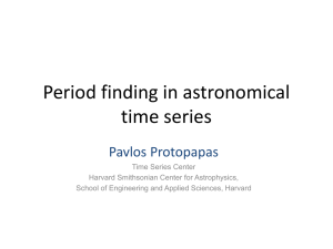 Period finding in astronomical time series