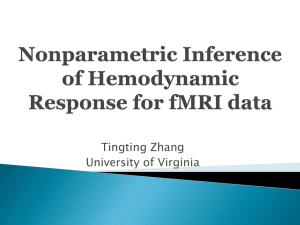 Nonparametric Inference of Hemodynamic Response for