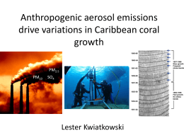 15:15 Kwiatkowski L - 12th International Coral Reef Symposium