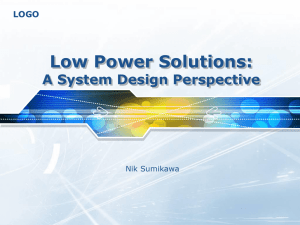Low Power Systems