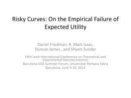 Risky Games - Universitat Pompeu Fabra
