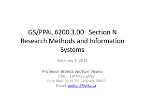GS/PPAL 6200 3.00 Section N Research Methods