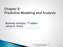 Chapter 8 PowerPoint Slides for Evans text