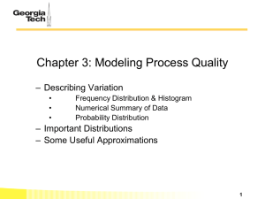 Chapter 3 Modeling Process Quality