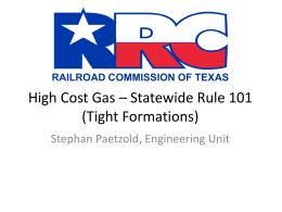 high-cost - Railroad Commission