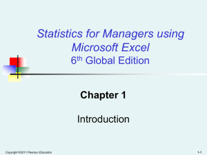 Basic Business Statistics, 10/e