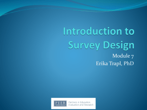 Module 7 & 8 Slides Erika Trapl - Prevention Research Center for