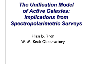 Implications for the Unification Model of AGNS from