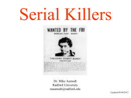 Serial Killers - Aamodt
