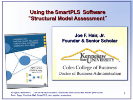 How to use SmartPLS software_Structural Model Assessment_3