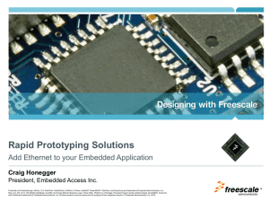 Add Ethernet to your Embedded Application