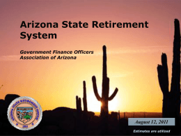 Arizona State Retirement System