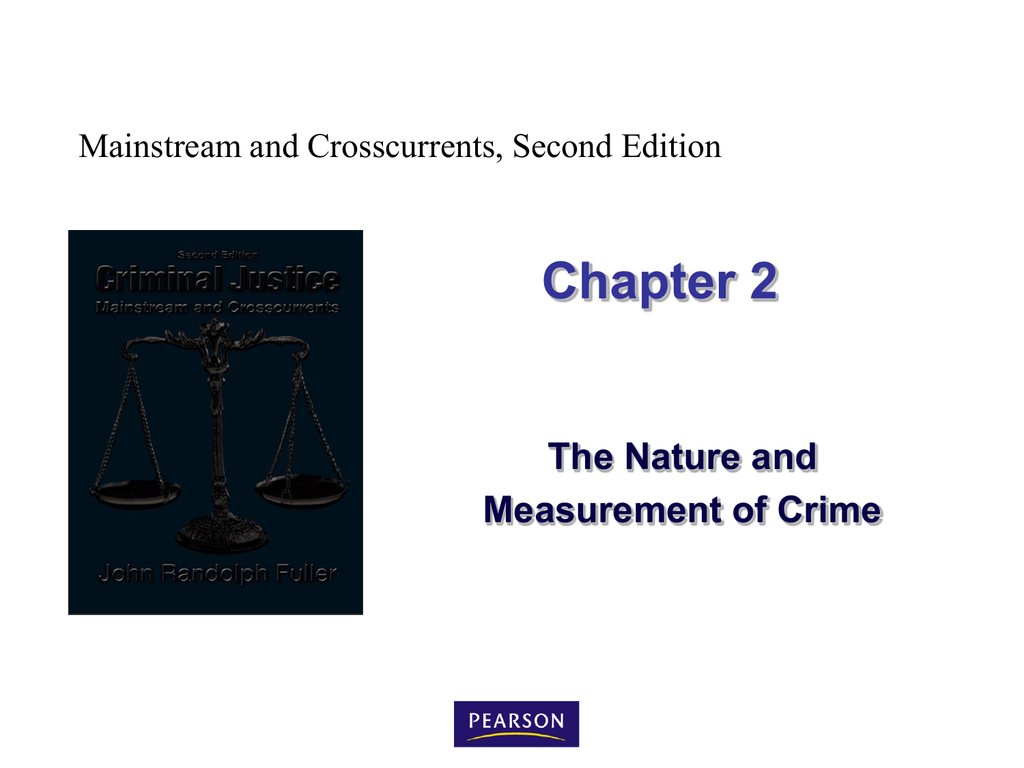Mainstream and Crosscurrents Juvenile Delinquency