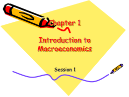 lecture ppts in intro macroeconomics