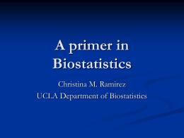 Data Interpretation & Biostatistics