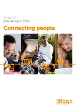 Ziggo Annual Report 2013