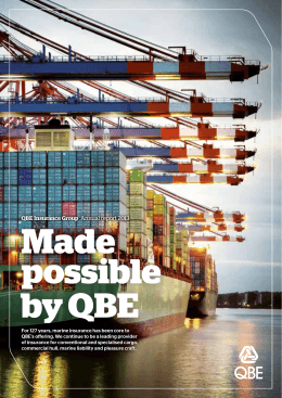 QBE Insurance Group Annual report 2013