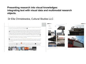 integrating text with visual data and multimodal research