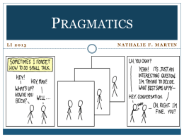 LI2013 (13) – Pragmatics (for students)