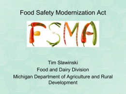 Power point - Michigan Potato Industry Commission