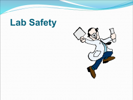 Microbiology Laboratory Safety and Rules