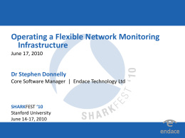 (Donnelly) Operating a Flexible Network Montioring