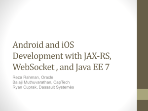 Andoid and iOS Development with JAX