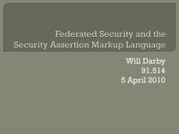 FederatedSecurity - 91-514-201-s2010