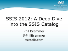 SQLSaturday165_SSISInternals