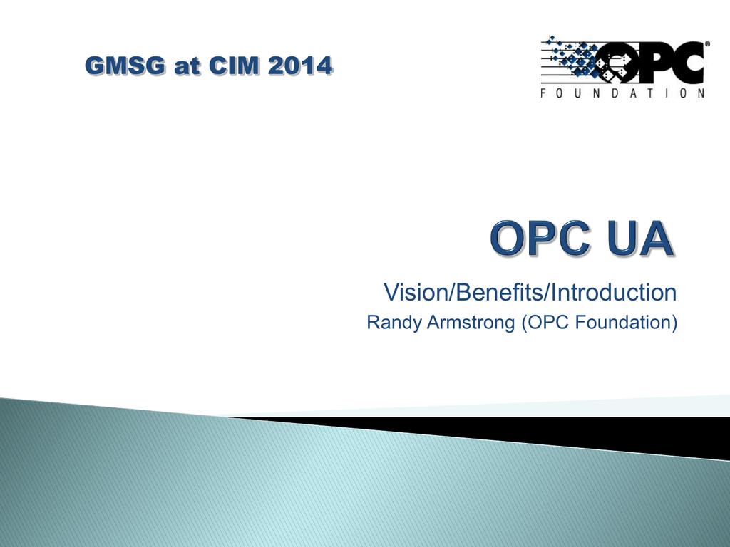OPC UA Server OPC COM Server