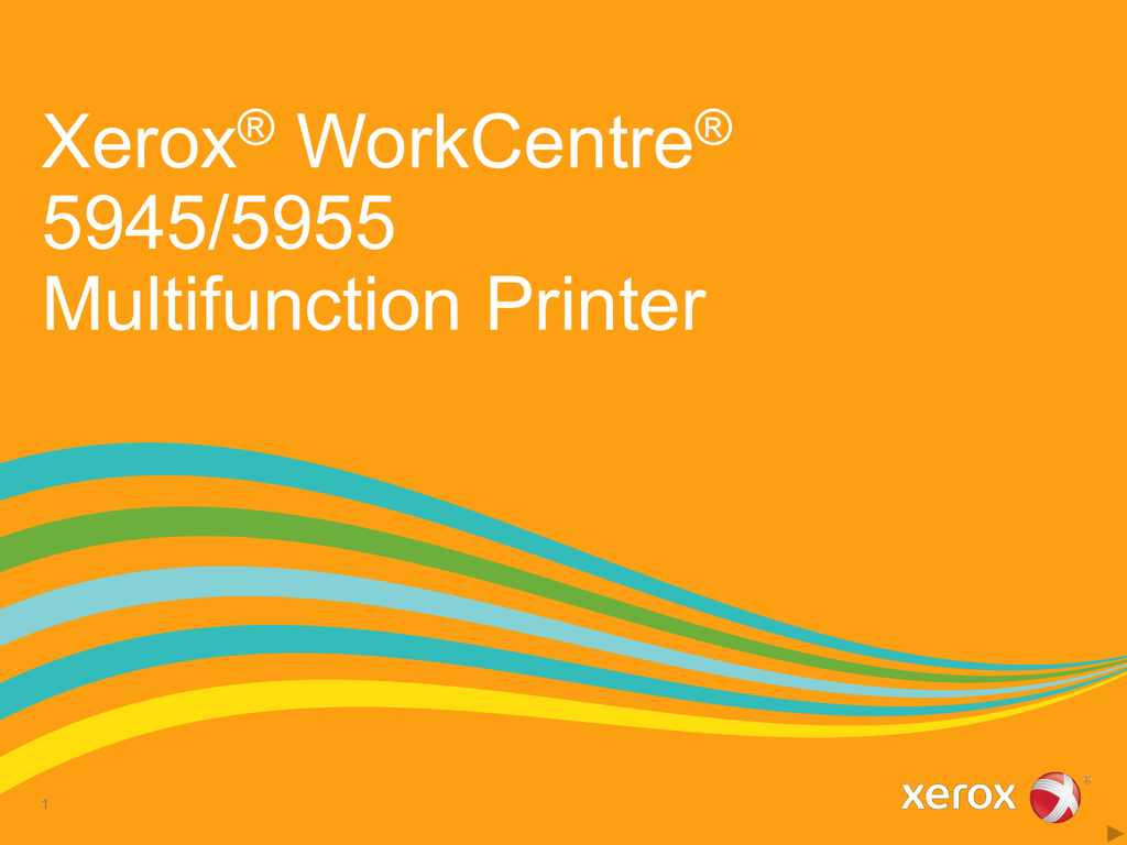 Xerox® WorkCentre® 5945/5955 Multifunction Printer