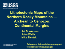 AB_GSA14_NRtect_ppt_v4 - Geological Society of America