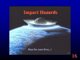 Impact Hazards - the University of Redlands