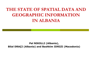 Albanian Geographic (Military) Institute (AGMI)
