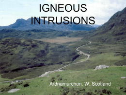 IGNEOUS INTRUSIONS