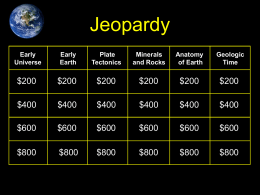Jeopardy Game (ppt 9 MB)