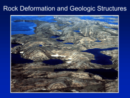 Geologic Structures And Economic Deposits