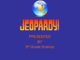 Geologic time jeopardy review