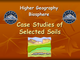 Soils: The Critical Resource