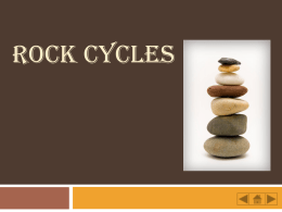 ROCK CYCLES - Personal.kent.edu