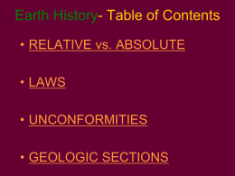 activity 8.1 sequence of events in geologic cross sections answers