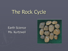 The Rock Cycle PP