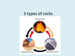 3 types of rocks powerpoint (Slides 1-8)