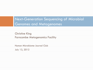 Reference - Human Microbiome Journal Club