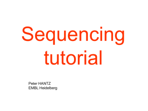Illumina (Solexa) sequencing