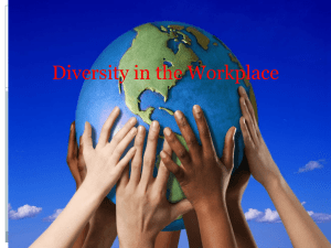 Diversity in the Workplace - Loudoun County Public Schools
