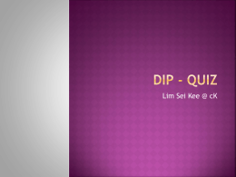 DIP - QUIZ - WordPress.com