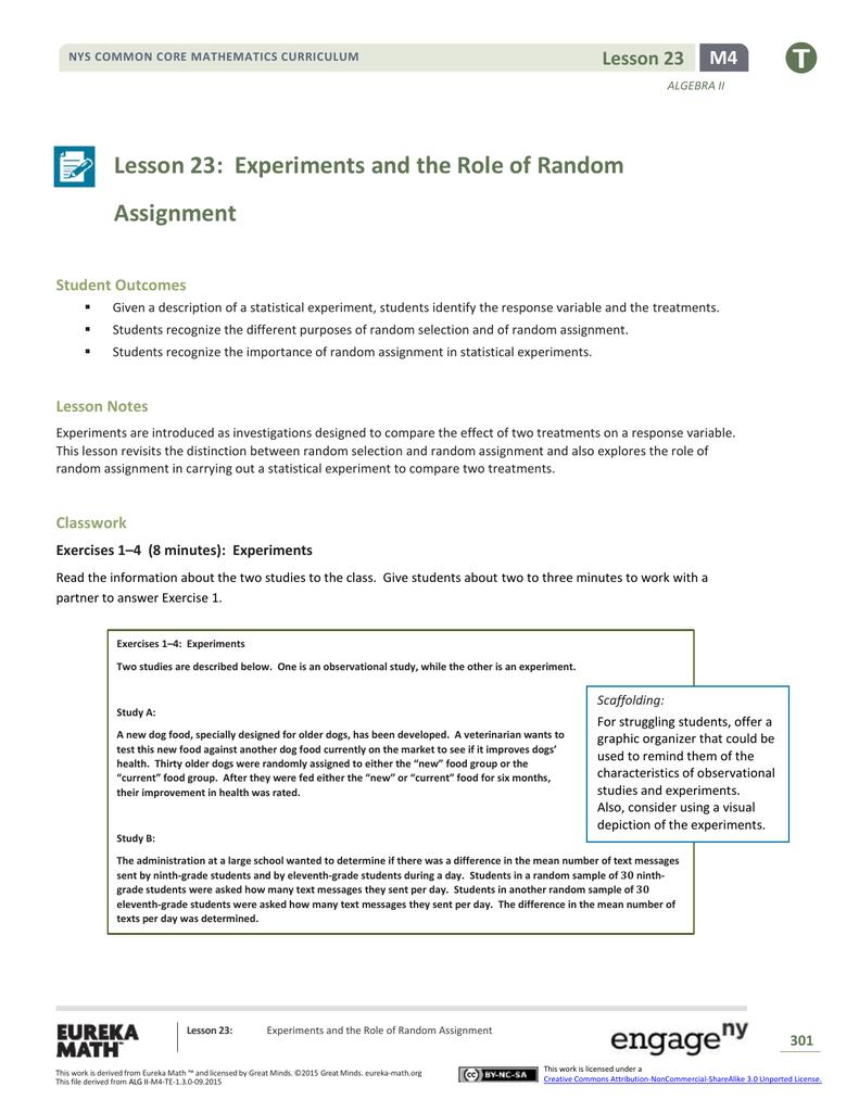 Algebra II Module 4, Topic D, Lesson 23: Teacher Version