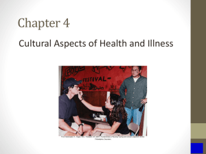 Chapter 4,Cultural Aspects of Nursing
